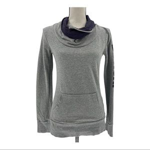 Bench Gray Cowl Neck Pullover Sweatshirt Size S